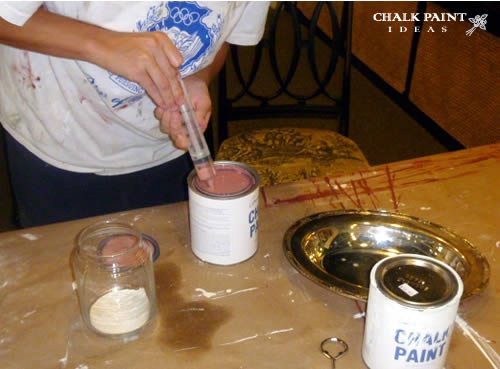 How To Mix Annie Sloan Chalk Paint