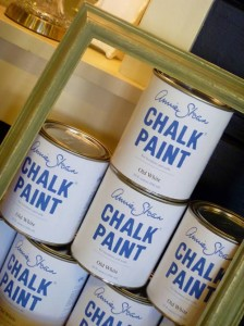 Annie Sloan Old White Chalk Paint Cans.